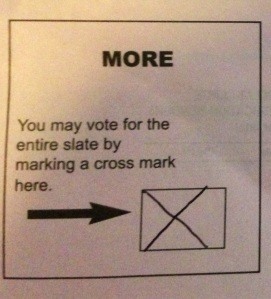 VOTE MORE BOX