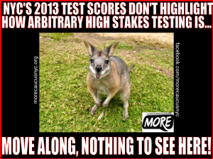 "alt=""NYC's 2013 test scores don't highlight how arbitrary high stakes testing is"""