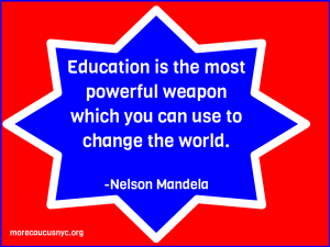 "alt=""Education is a weapon to change the world -Mandela"""