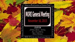 nov general meeting