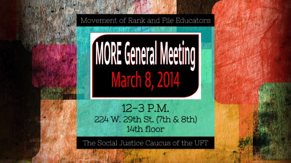 """MORE general meeting march 8th 2014"""