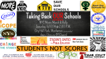 """""""Taking back OUR schools NYC metro march and rally"""""""
