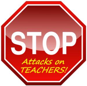 StopAttacksOnTeachers