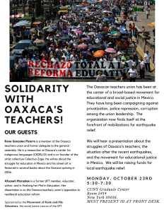 """""""MOREUFT Oaxaca Teachers"""""""