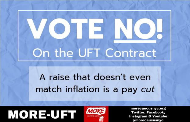 """UFT Contract raise inflation"""